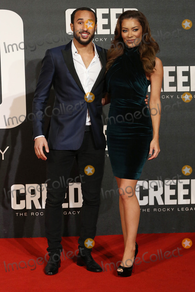 Andros Townsend Photo - Andros Townsend  girlfriend Hazel OSullivan at the UK premiere of Creed The Rocky Legacy at the Empire Leicester Square London January 12 2016  London UKPicture James Smith  Featureflash