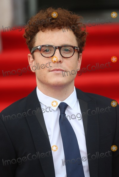 Joshua McGuire Photo - Joshua McGuire arriving for the About Time UK Premiere held at Somerset House London 08082013 Picture by Henry Harris  Featureflash