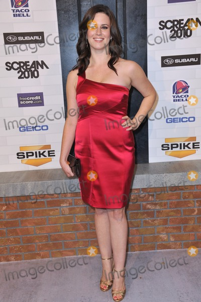 Katie Featherston Photo - Katie Featherston at Spike TVs 2010 Scream Awards at the Greek Theatre Griffith Park Los AngelesOctober 16 2010  Los Angeles CAPicture Paul Smith  Featureflash