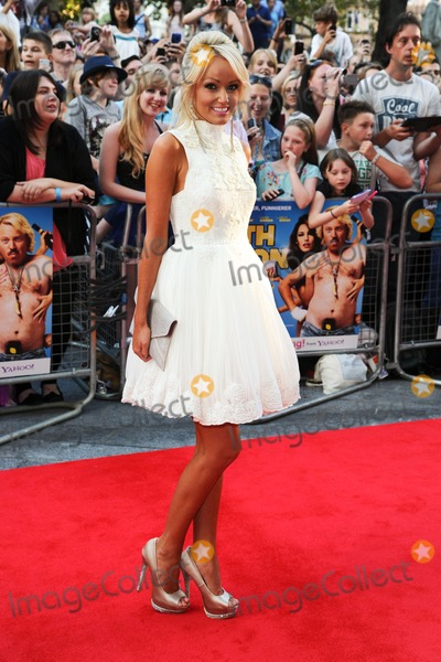 Hayley Roberts Photo - Hayley Roberts arriving for the premiere of Keith Lemon The Film at the Vue Cinema Leicester Square London 21082012 Picture by Steve Vas  Featureflash