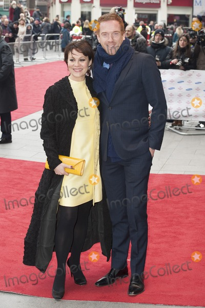 Damien Lewis Photo - Helen McRory and Damien Lewis arriving for the The Princes Trust Celebrate Success Awards 2013 at the Odeon Leicester Square London 26032013 Picture by Simon Burchell  Featureflash