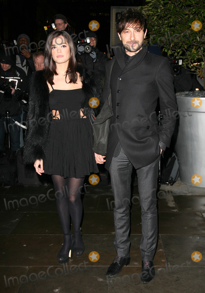 Alex Zane Photo - Alex Zane and girlfriend Lorena Mancini arriving for the English National Ballet Christmas showing of The Nutcracker at The Coliseum Theatre London 14122011 Picture by Alexandra Glen  Featureflash
