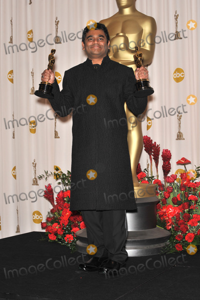 AR Rahman Photo - AR Rahman at the 81st Academy Awards at the Kodak Theatre HollywoodFebruary 22 2009  Los Angeles CAPicture Paul Smith  Featureflash