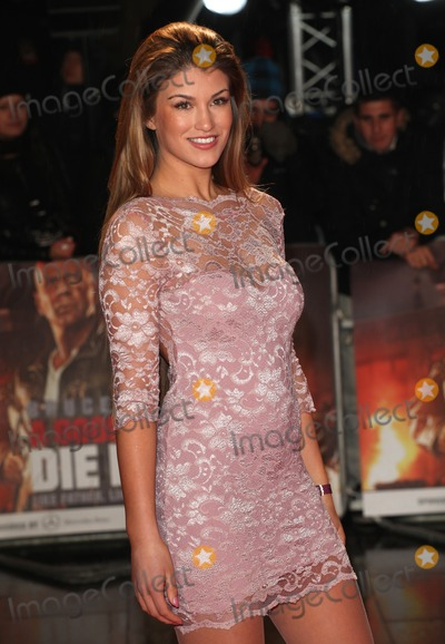 Amy Willerton Photo - Amy Willerton arriving for the A Good Day to Die Hard UK Premiere Empire Leicester Square London 07022013 Picture by Alexandra Glen  Featureflash