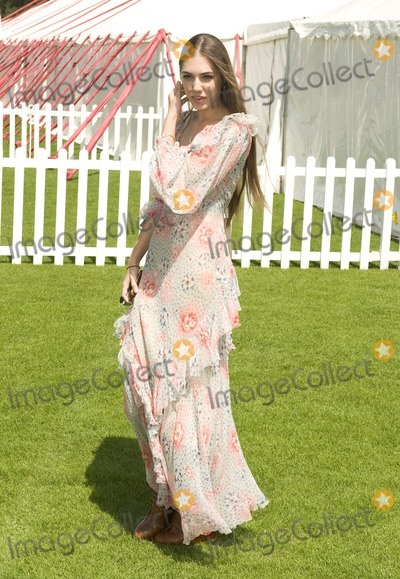 Amber Le Bon Photo - Amber le Bon arriving for  The Cartier International Polo at Windsor Great Park Berkshire 24072011  Picture by Simon Burchell  Featureflash