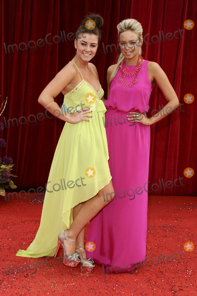 Sacha Parkinson Photo - Brooke Vincent and Sacha Parkinson arrives at the British Soap awards 2011 held at the Granada Studios Manchester14052011  Picture by Steve VasFeatureflash