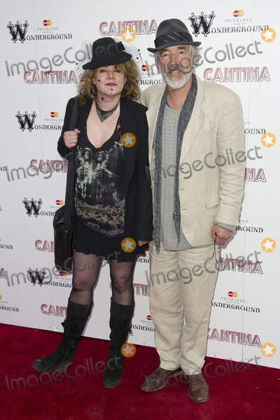 Emily Lloyd Photo - Emily Lloyd and Roger Lloyd Pack arriving for the Press Night of Cantina at Jubilee Gardens in London 21052012  Picture by Simon Burchell  Featureflash