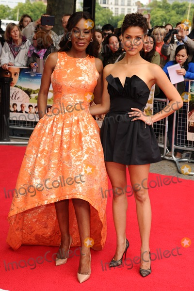 Amma Asante Photo - Amma Asante and Gugu Mbatha-Raw arrives for the Belle premiere at the BFI South Bank London 05062014 Picture by Steve Vas  Featureflash