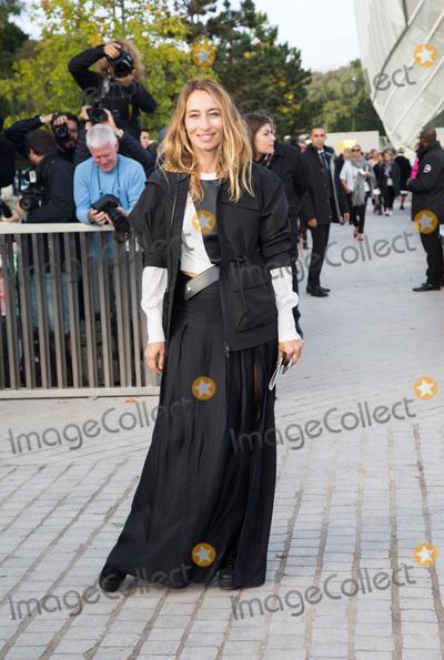 Alexandra Golovanoff Photo - Alexandra Golovanoff attend Louis Vuitton Show Front Row - Paris Fashion Week  2016October 7 2015 Paris FrancePicture Kristina Afanasyeva  Featureflash