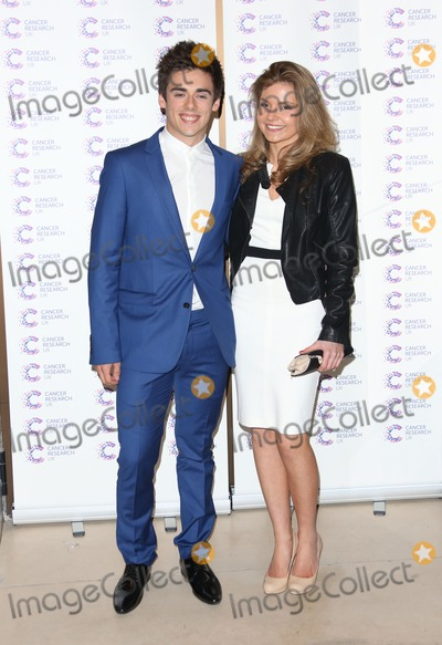 Chris Mears Photo - Chris Mears with his girlfriend arriving at the James Jog fundraising event for Cancer Relief Kensington London 03042013 Picture by Henry Harris  Featureflash