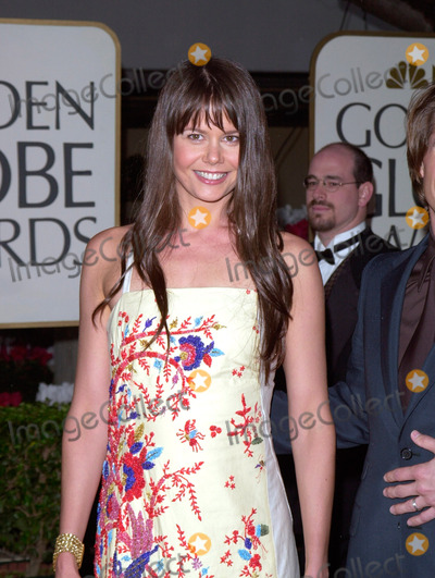 Antonia Kidman Photo - 23JAN2000  ANTONIA KIDMAN sister of Nicole Kidman at the Golden Globe Awards in Beverly Hills Paul Smith  Featureflash