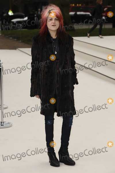 Alison Mosshart Photo - Alison Mosshart arriving for the Burberry Prorsum fashion show as part of London Fashion Week 2012 AW in Kensington Gardens London 20022012 Picture by Steve Vas  Featureflash