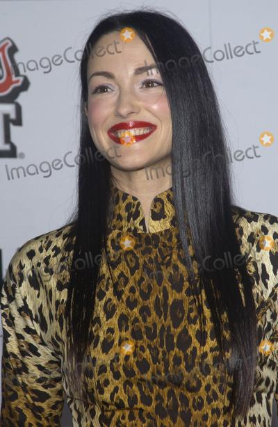 Julie Dreyfus Photo - Actress JULIE DREYFUS at the Los Angeles premiere of her new movie Kill BillSept 29 2003 Paul Smith  Featureflash