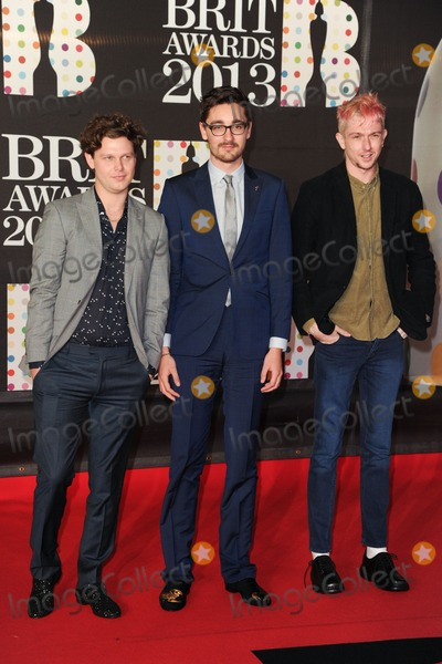 Alt J Photo - Alt J arrives for the Brit Awards 2013 at the O2 Arena Greenwich London 20022013 Picture by Steve Vas  Featureflash