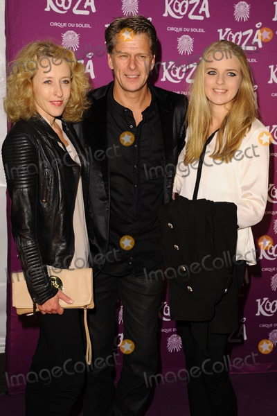 Andrew Castle Photo - Andrew Castle arrives for the Cirque du Soleil Kooza VIP performance at the Royal Albert Hall London 08012013  Picture by Steve Vas  Featureflash
