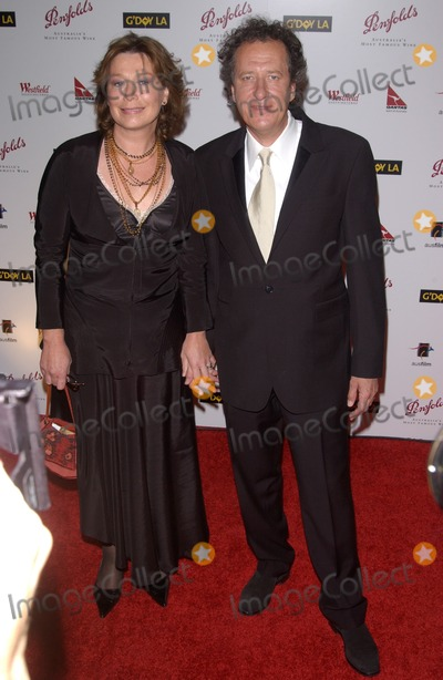 Geoffrey Rush Photo - Jan 15 2005 Los Angeles CA  GEOFFREY RUSH  wife at the GDay LA Penfolds Gala honoring Australian talent