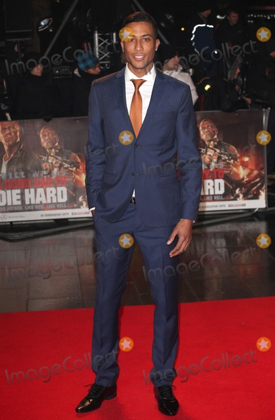 Andrew Osagie Photo - Andrew Osagie arriving for the A Good Day to Die Hard UK Premiere Empire Leicester Square London 07022013 Picture by Alexandra Glen  Featureflash