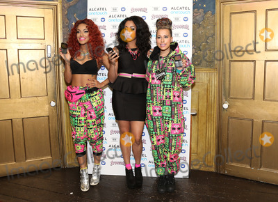 Alexandra Buggs Photo - Alexandra Buggs Karis Anderson and Courtney RumboldStooshe and Alcatel one touch photocall at The BoxLondon England 18072012 Picture by Henry Harris  Featureflash