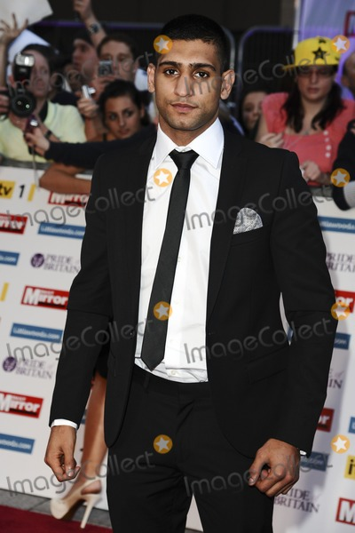 Amir Khan Photo - Amir Khan arriving for the 2011 Pride Of Britain Awards at the Grosvenor House Hotel London 04102011 Picture by Steve Vas  Featureflash