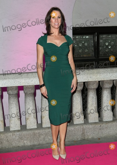 Andrea Mclean Photo - Andrea Mclean arriving at the Inspiration Awards For Women 2013 at the Cadogan Hall London 02102013 Picture by Alexandra Glen  Featureflash