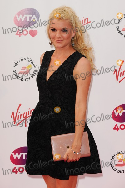 Agnieszka Radwanska Photo - Agnieszka Radwanska arriving for the WTA Pre-Wimbledon Party 2013 at the Kensington Roof Gardens London 20062013 Picture by Steve Vas  Featureflash
