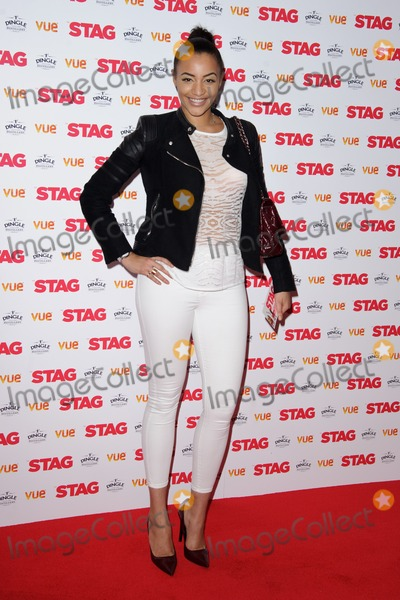 Amal Fashanu Photo - Amal Fashanu arrives for the premiere of The Stag at the Vue Leicester Square London 13032014 Picture by Steve Vas  Featureflash