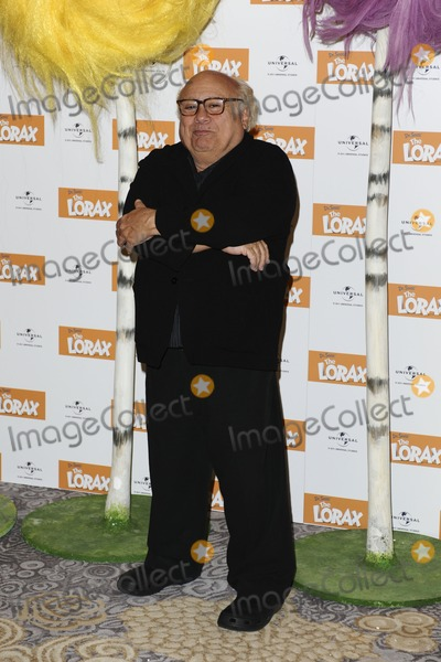 The Lorax Photo - Danny Devito poses for photographers to promote his new film The Lorax at Dorchester Hotel London 12032012 Picture by Steve Vas  Featureflash