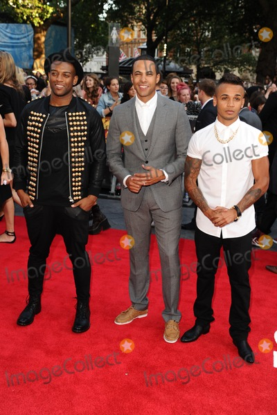 JLS Photo - JLS arriving for the One Direction This is Us World premiere at the Empire Leicester Square London 20082013 Picture by Steve Vas  Featureflash