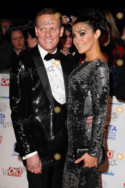 Anthony Cotton Photo - Anthony Cotton and Kym Marsharrives for the National TV Awards 2014 at the O2 arena Greenwich London22012014 Picture by Steve Vas