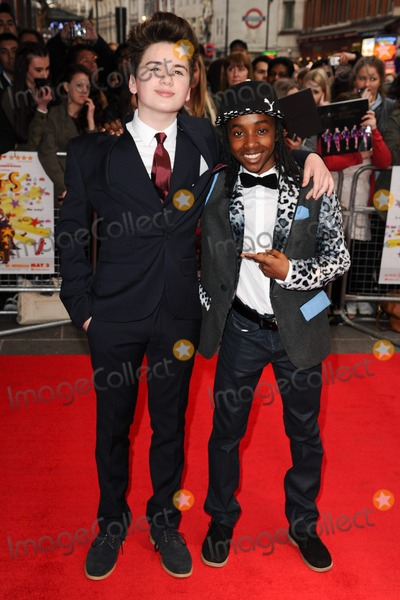Theo Stevenson Photo - Theo Stevenson and Akai arriving for the All Stars 3D Premiere Vue West End London 22042013 Picture by Steve Vas  Featureflash
