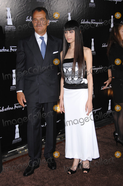 Chiaki Kuriyama Photo - LEONARD FERRAGAMO  CHIAKI KURIYAMA at the 2006 Rodeo Drive Walk of Style Gala in Beverly Hills honoring Salvatore FerragamoOctober 8 2006  Los Angeles CAPicture Paul Smith  Featureflash