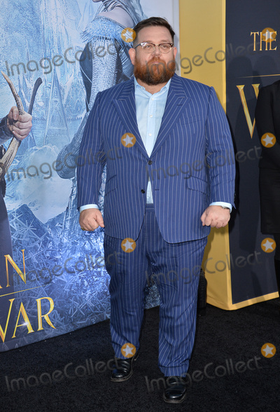 Nick Frost Photo - LOS ANGELES CA April 11 2016 Nick Frost at the US premiere of The Huntsman Winters War at the Regency Village Theatre WestwoodPicture Paul Smith  Featureflash