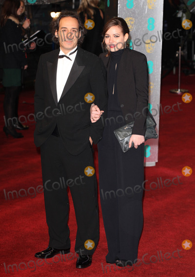 Alexandre Desplat Photo - Alexandre Desplat arriving for the 2013 British Academy Film Awards at the Royal Opera House London 10022013 Picture by Alexandra Glen  Featureflash