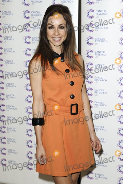 Lindsay Armaou Photo - Lindsay Armaou arriving at James Jog On To Cancer Event Kensington Roof Gardens London 09042014 Picture by Alexandra Glen  Featureflash