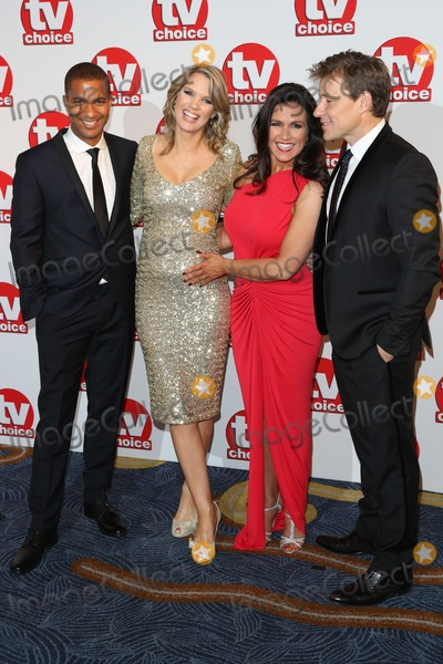 Susanna Reid Photo - Sean Fletcher Charlotte Hawkins Susanna Reid Ben Shephard at the TV Choice Awards 2014 held at the Park Lane Hilton London 08092014 Picture by James Smith  Featureflash