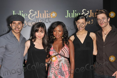 Kristy Flores Photo - Fame stars Walter Perez (left) Anna Maria Perez de Tagle Naturi Naughton Kristy Flores  Paul McGill at the Los Angeles premiere of Julie  Julia at Mann Village Theatre WestwoodJuly 27 2009  Los Angeles CAPicture Paul Smith  Featureflash