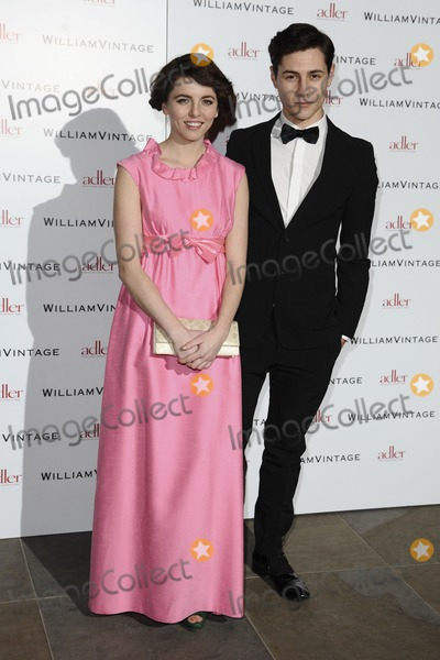 Augustas Prew Photo - Ophelia Lovibond and Augustas Prew arriving for the William Vintage dinner at the Renaissance Hotel St Pancras London 10022012 Picture by Steve Vas  Featureflash