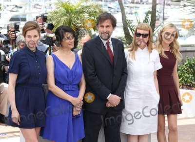 Hiam Abbass Photo - Emmanuelle Devos Hiam Abbass Nanni Moretti Andrea Arnold Diane Kruger at the Cannes Jury photocall - during the 65th Cannes Film Festival Cannes France  16052012 Picture by Henry Harris  Featureflash