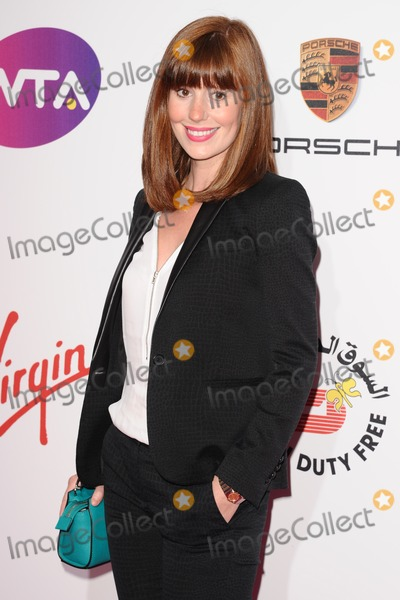 Amy Nuttall Photo - Amy Nuttall arrives for the WTA Pre-Wimbledon Party 2014 at the Kensington Roof Gardens London 19062014 Picture by Steve Vas  Featureflash