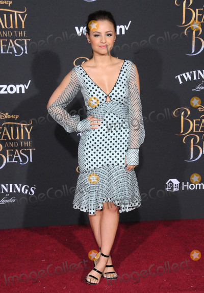 Aimee Carrero Photo - HOLLYWOOD CA - MARCH 2 Actress Aimee Carrero attends Disneys Beauty And The Beast World Premiere at El Capitan Theatre on March 2 2017 in Hollywood California  (Photo by Barry KingImageCollectcom)