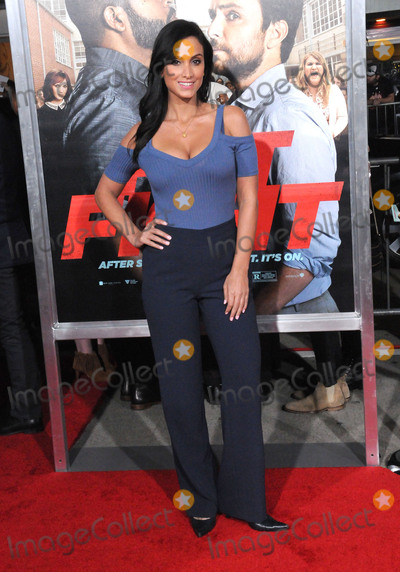 Angelique Cabral Photo - LOS ANGELES - FEBRUARY 13 Actress Angelique Cabral attends the world premiere of Fist Fight at Regency Village Theatre on February 13 2017 in Los Angeles California  (Photo by Barry KingImageCollectcom)