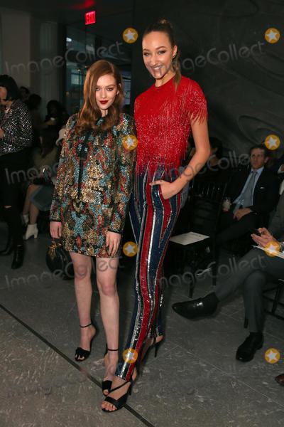 Ava Michelle Photo - February 11 2020 New York New York USA LARSEN THOMPSON AVA MICHELLE at the Naeem Khan FW 2020 Fashion ShowThe Zaha Hadid Building NYCFebruary 11 2020Photos by     Photos Inc (Credit Image  Sonia MoskowitzGlobe Photos via ZUMA Wire)