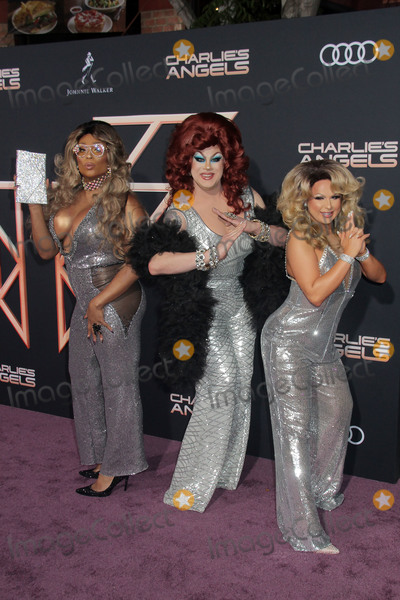 Nina West Photo - Peppermint Nina West Farah Moan 11112019 Charlies Angels Premiere held at the Regency Village Theatre in Westwood CA Photo by Kazuki Hirata  HollywoodNewsWireco