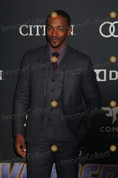 Anthony Mackie Photo - Anthony Mackie 04222019 The world premiere of Marvel StudiosAvengers Endgame held at The Los Angeles Convention Center in Los Angeles CA Photo by Izumi Hasegawa  HollywoodNewsWireco