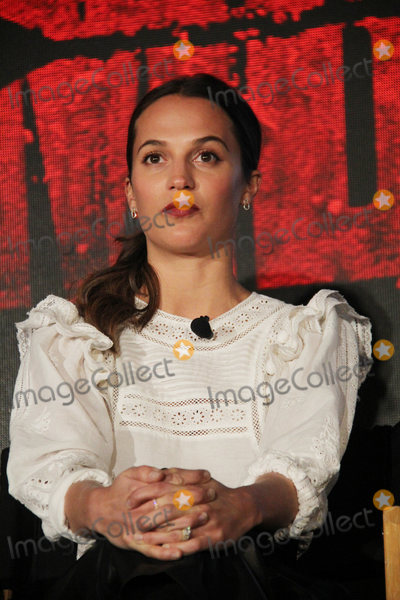Alicia Vikander Photo - Alicia Vikander 02232018 Tomb Raider Press Conference held at Four Seasons Los Angeles at Beverly Hills in Los Angeles CA Photo by Izumi Hasegawa  HollywoodNewsWireco