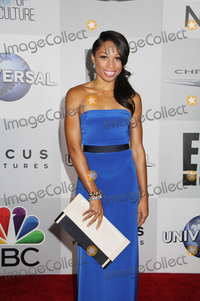 Allyson Felix Photo - Allyson Felix 01122014 71st Annual Golden Globe Awards NBCUniversal After Party held at the Beverly Hilton Hotel in Beverly Hills CA Photo by Izumi Hasegawa  HollywoodNewsWirenet
