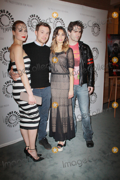 Meaghan Rath Photo - Kristen Hager Sam Huntington Meaghan Rath Sam Witwer01082013 The Paley Center For Media Presents An Evening with SyFys Being Human Season Three Premiere  Panel held at The Paley Center For Media in Beverly Hills CA Photo by Izumi Hasegawa  HollywoodNewsWirenet