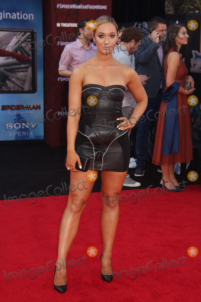 Alisha Marie Photo - Alisha Marie 06262019 Spider-Man Far From Home Premiere held at the TCL Chinese Theatre in Hollywood CA Photo by Kazuki Hirata  HollywoodNewsWireco