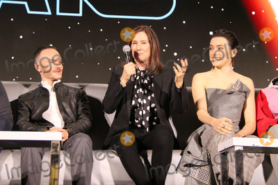 Chris Terrio Photo - Chris Terrio Kathleen Kennedy 12042019 Star Wars The Rise of the Skywalker Press Conference held in Pasadena CA Photo by Izumi Hasegawa  HollywoodNewsWireco