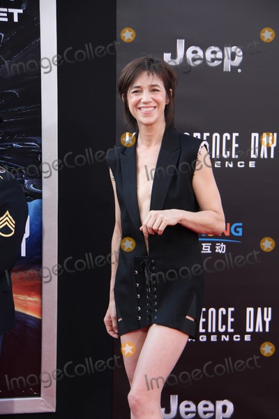 Charlotte Gainsbourg Photo - Charlotte Gainsbourg 06202016 The Red Carpet Screening of Independence Day Resurgenceh held at The TCL Chinese Theatre in Hollywood CA Photo by Izumi Hasegawa  HollywoodNewsWireco